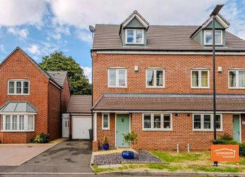 Thumbnail 4 bed semi-detached house for sale in Harvest Grove, Bloxwich