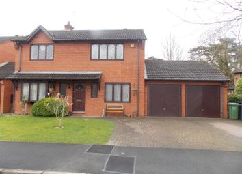 Thumbnail 4 bed detached house to rent in St. Augustines Close, Droitwich
