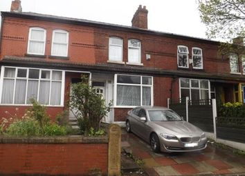 Thumbnail 4 bedroom terraced house for sale in Albert Road, Manchester, Greater Manchester