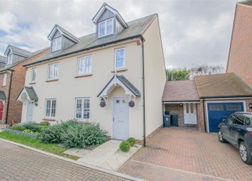 Thumbnail 4 bedroom semi-detached house for sale in Farm Close, Ware