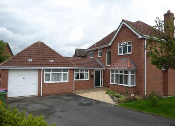 Thumbnail 5 bedroom detached house for sale in New River Close, Telford