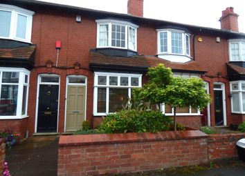Thumbnail 2 bed terraced house for sale in Aubrey Road, Harborne, Birmingham