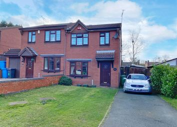 Thumbnail 3 bed semi-detached house for sale in Heathbank Drive, Huntington, Cannock