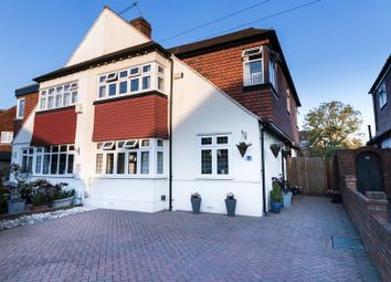 Thumbnail 5 bed semi-detached house for sale in Riverview Road, Ewell, Epsom