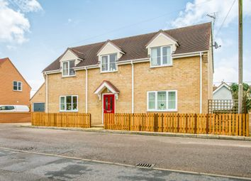 Thumbnail 3 bed link-detached house for sale in The Hythe, Littleport, Ely