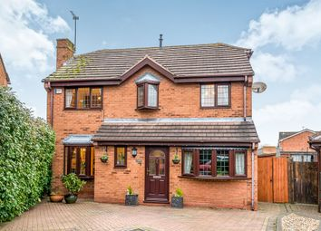 Thumbnail 4 bed detached house for sale in Cheadle Close, Penkridge, Stafford