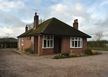 Thumbnail 3 bed detached bungalow to rent in Sheppenhall Lane, Aston, Nantwich, Cheshire