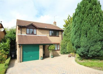 Thumbnail 4 bed detached house for sale in Shropshire Close, Shaw, Swindon