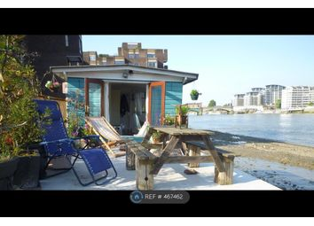 Thumbnail 1 bed houseboat to rent in Vicarage Walk, London