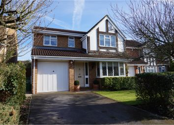 Thumbnail 4 bed detached house for sale in Maplin Park, Slough