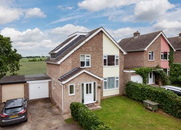 Thumbnail 4 bed link-detached house for sale in St. Peters Avenue, Moulton, Newmarket