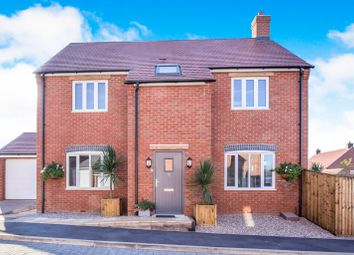Thumbnail 4 bed detached house for sale in Stoney Rise, Sapcote, Leicester