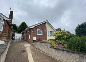 Thumbnail 2 bed bungalow for sale in Hillsway, Shirebrook, Mansfield, Derbyshire