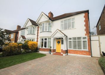 Thumbnail 4 bed semi-detached house to rent in Harwood Avenue, Bromley
