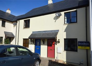 Thumbnail 2 bed terraced house to rent in Sawyers Close, Moretonhampstead, Newton Abbot, Devon