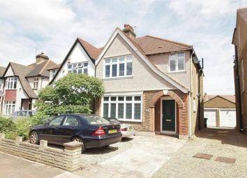 Thumbnail 3 bed semi-detached house for sale in Eden Park Avenue, Beckenham