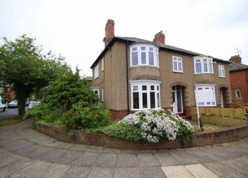 Thumbnail 3 bed semi-detached house for sale in Swaledale Avenue, Darlington