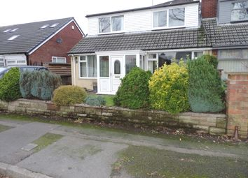 Thumbnail 4 bed semi-detached bungalow for sale in Cemetery Road, Royton, Oldham