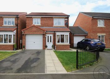 Thumbnail 3 bed detached house for sale in Leach Grove, Darlington