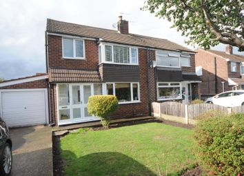 Thumbnail 3 bed semi-detached house for sale in Harlow Close, Thelwall, Warrington