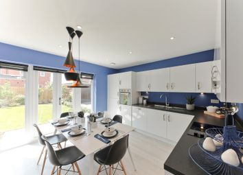 "Thumbnail 3 bed semi-detached house for sale in ""The Scarsdale"" at Winchester Road, Boorley Green, Botley"