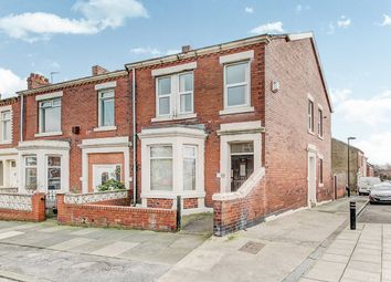 Thumbnail 3 bed flat for sale in Armstrong Road, Wallsend
