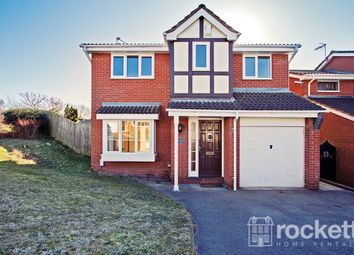 Thumbnail 4 bedroom detached house to rent in Smallwood Close, Chesterton, Newcastle-Under-Lyme