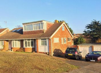Thumbnail 4 bedroom bungalow for sale in Hawth Place, Seaford, East Sussex