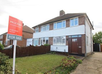Thumbnail 3 bed semi-detached house for sale in Broadcroft Road, Petts Wood, Orpington, Kent