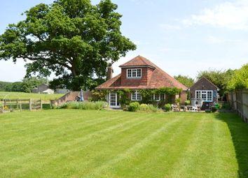 Thumbnail 3 bed detached bungalow to rent in Lingfield Lodge Farm, Moor Lane, Marsh Green, Edenbridge