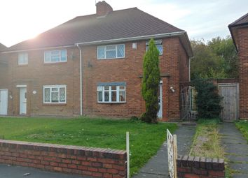 Thumbnail 2 bed semi-detached house to rent in Devon Crescent, Dudley