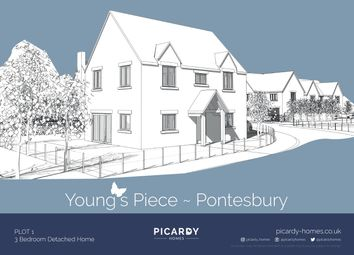 Thumbnail 3 bedroom detached house for sale in Plot 1 Young's Piece, Pontesbury, Shrewsbury
