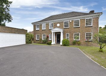 Thumbnail 4 bed detached house to rent in Burleigh Park, Cobham, Surrey