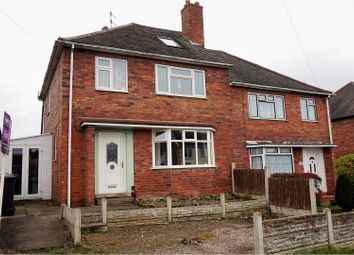 Thumbnail 4 bed semi-detached house for sale in Ellowes Road, Dudley