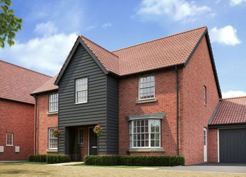 "Thumbnail 4 bedroom detached house for sale in ""Winstone"" at Caistor Lane, Poringland, Norwich"