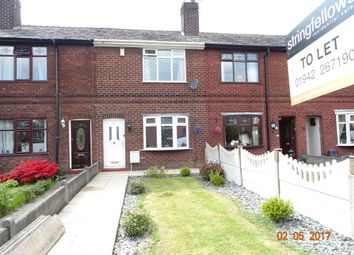 Thumbnail 2 bed terraced house to rent in Overton Street, Leigh