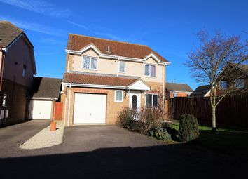 Thumbnail 4 bed detached house for sale in Hempland Close, Corby