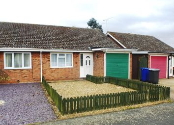 Thumbnail 2 bed terraced bungalow for sale in Raven Close, Mildenhall, Bury St. Edmunds