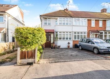 Thumbnail 3 bed end terrace house for sale in Woodford, Green, Essex