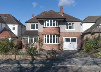 Thumbnail 4 bed detached house to rent in Nonsuch Walk, Cheam, Surrey