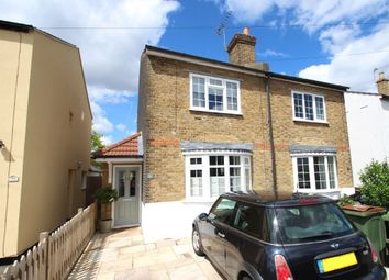 Thumbnail 2 bed semi-detached house for sale in Avern Road, West Molesey