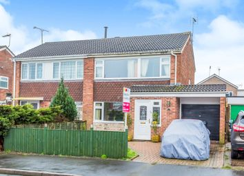 Thumbnail 3 bed semi-detached house for sale in Grenville Close, Uttoxeter