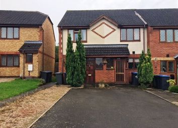 Thumbnail 2 bed semi-detached house to rent in Mellish Road, Rugby