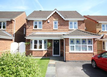 Thumbnail 3 bed detached house for sale in Chedworth Drive, Manchester