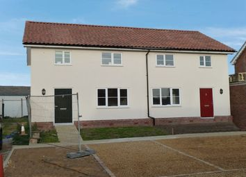 Thumbnail 3 bedroom semi-detached house to rent in Victoria Road, Diss, Norfolk