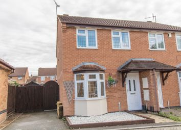 Thumbnail 3 bed semi-detached house for sale in Paramore Close, Leicester