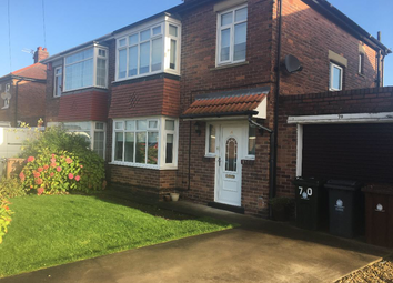 Thumbnail 3 bed semi-detached house to rent in Glanton Road, North Shields