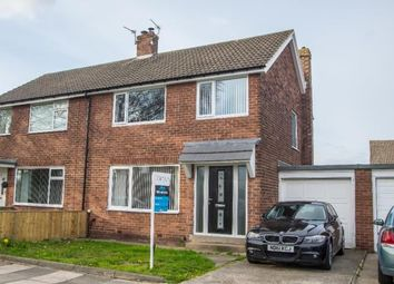 Thumbnail 3 bed semi-detached house for sale in Chapel House Grove, Newcastle Upon Tyne