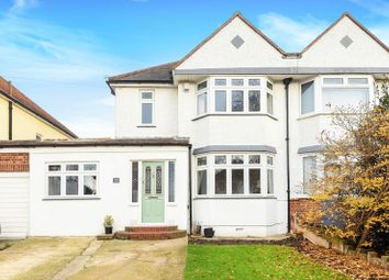 Thumbnail 4 bed semi-detached house for sale in Somerset Avenue, Chessington