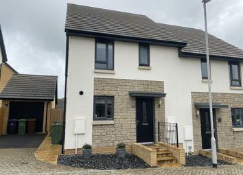 Thumbnail 3 bed semi-detached house for sale in Spindle Crescent, Plymouth